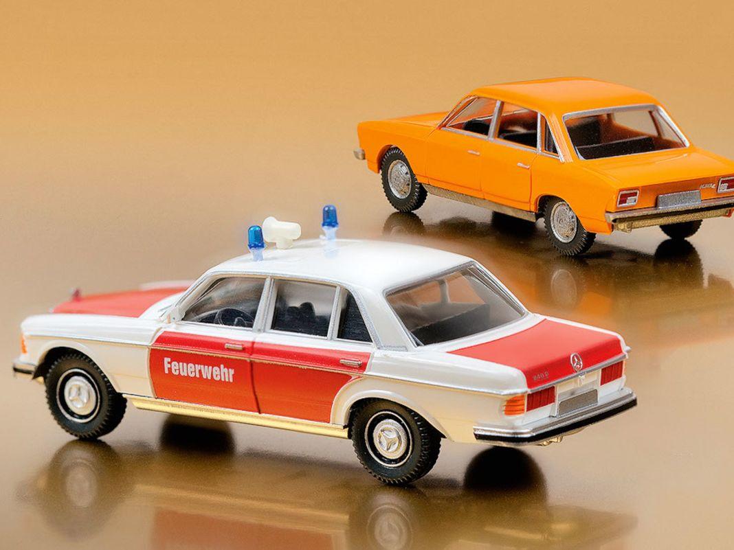 Designstück VW K70, W123 Feuerwehr
