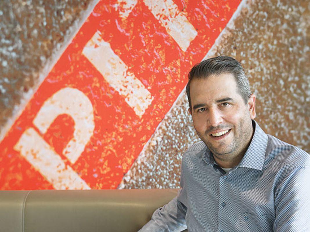 Markus Hirsch, Direktor der Modellautomarke, möchte die Zusammenarbeit zwischen Porsche und Majorette in Zukunft noch intensivieren