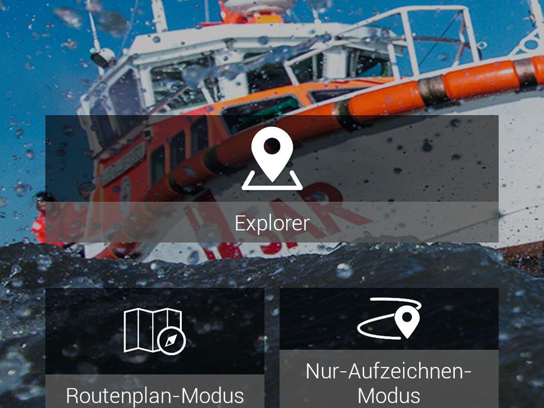 Die App Safe TRX mit drei Grundfunktionen