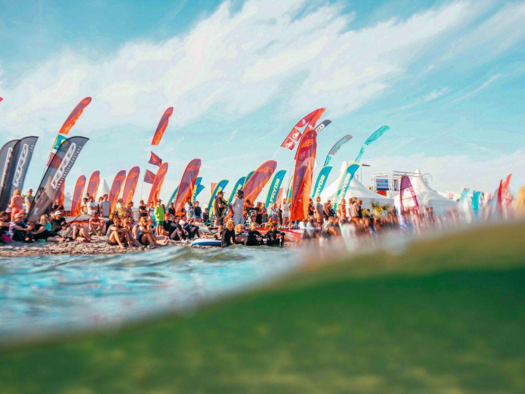 Das Surf-Festival ist nach dem Foil-Festival in Schönberg das zweite Event für Wingsurfer in diesem Sommer