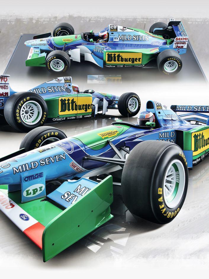 Benetton B194 von Minichamps in 1:8 - Aachens Formel 1:8