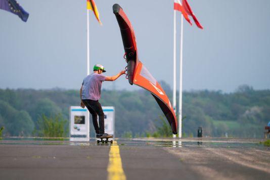 """Kleine Wings bieten beim Wingskaten mehr """"Bodenfreiheit"""""""