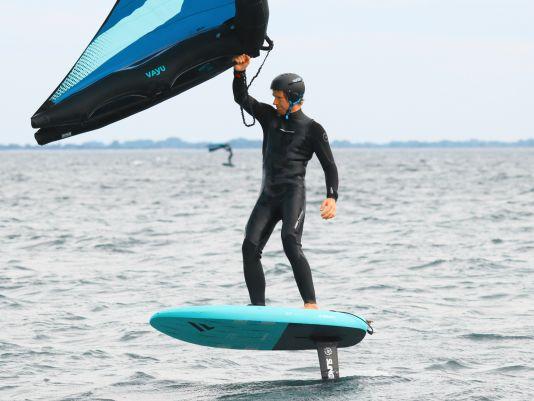 Der Forward WIP Helm ist auf dem Wasser kaum spürbar