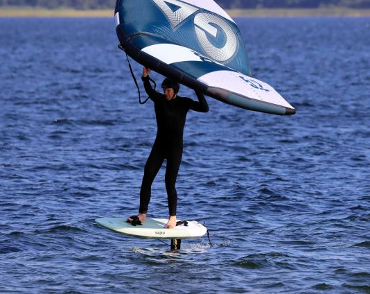 Das Vayu Fly Wingboard ist besonders kompakt