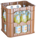 Stiftsquelle Limonade Orange Light Kasten 12 x 0,7 l Glas Mehrweg
