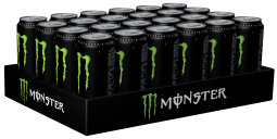Monster Energy Drink Original Karton 24 x 0,5 l Dose Einweg