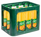 DEIT Orange Kasten 12 x 1 l PET Mehrweg