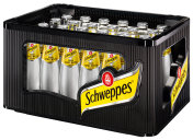 Schweppes Indian Tonic Water Kasten 24 x 0,2 l Glas Mehrweg