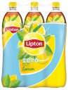 Lipton Ice Tea Eistee Lemon Zero 6 x 1,5 l PET Einweg