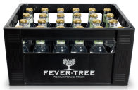 Fever Tree Elderflower Tonic Water Kasten 24 x 0,2 l Glas Mehrweg