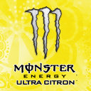 Logo Monster Energy Ultra Citron