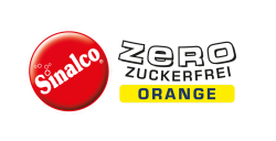 Logo Sinalco Orange Zero zuckerfrei