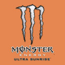 Logo Monster Energy Ultra Sunrise