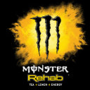 Logo Monster Rehab Tea + Lemon + Energy