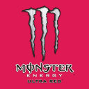 Logo Monster Energy Ultra Red