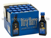 Dirty Harry Lakritz Likör Karton 24 x 0,02 l