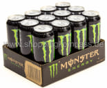 Monster Energy Drink Karton 12 x 0,5 l Dose Einweg