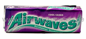 Wrigley's Airwaves Kaugummi Cool Cassis zuckerfrei 10 Dragees
