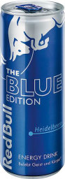 Foto Red Bull The Blue Edition Heidelbeere 0,25 l Dose Einweg