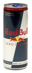 Foto Red Bull Sugarfree Zero Carolies Energy Drink 0,25 l Einweg Dose