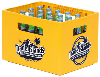 Trade Islands Iced Tea Lemon Lime Kasten 24 x 0,33 l Glas Mehrweg