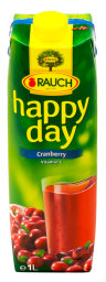 Happy Day Cranberry 1 l Tetra-Pack