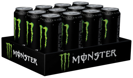 Foto Monster Energy Drink Original Karton 12 x 0,5 l Dose Einweg