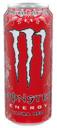 Foto Monster Energy Ultra Red 0,5 l Dose Einweg