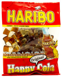 Foto Haribo Happy Cola 200 g