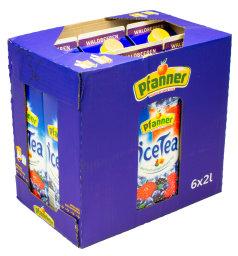 Pfanner Eistee Waldbeeren Karton 6 x 2 l Tetra-Pack