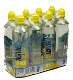Active O2 Lemon Karton 8 x 0,75 l PET EW