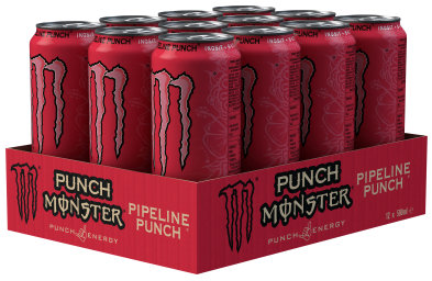 Foto Monster Energy Pipeline Punch Karton 12 x 0,5 l Dose Einweg