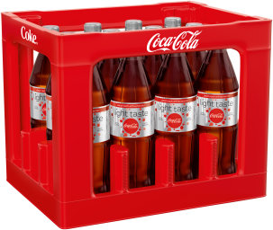 Foto Coca Cola Light Kasten 12 x 1 l PET Mehrweg