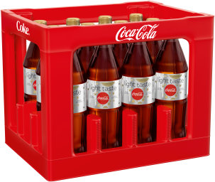 Coca Cola Light koffeinfrei Kasten 12 x 1 l PET Mehrweg