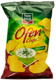Funny-Frisch Ofen Chips Sour Cream 150 g