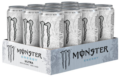 Foto Monster Energy Ultra Karton 12 x 0,5 l Dose Einweg