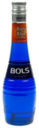 Bols Blue curacao Likör 0,7 l Glas