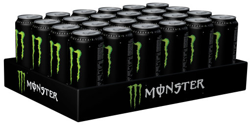 Foto Monster Energy Drink Original Karton 24 x 0,5 l Dose Einweg