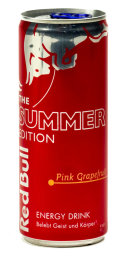 Foto Red Bull The Summer Edition Pink Grapefruit Ruby 0,25 l Dose Einweg