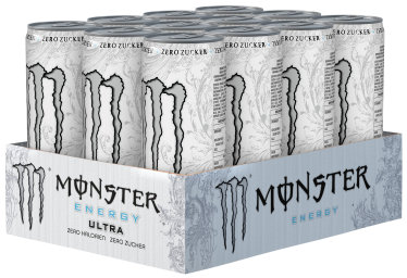 Foto Monster Energy Ultra Karton 12 x 0,335 l Dose Einweg