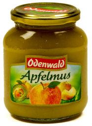 Odenwald Apfelmus Glas