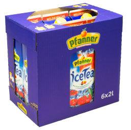 Pfanner Eistee Wildkirsche Karton 6 x 2 l Tetra-Pack
