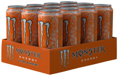 Foto Monster Energy Ultra Sunrise Karton 12 x 0,5 l Dose Einweg