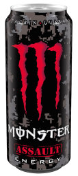Foto Monster Assault Energy 0,5 l Dose Einweg