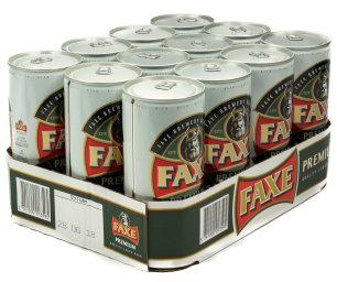 Faxe Premium Karton 12 x 1 l Dose EW