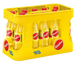 Foto Sinalco Orange Kasten 12 x 0,5 l PET Mehrweg