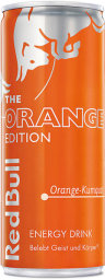 Foto Red Bull Orange 0,25 l Dose Einweg
