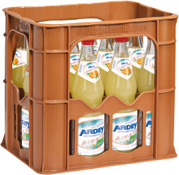 Foto Ardey Quelle Bleib in Form Orange Kasten 12 x 0,7 l Glas Mehrweg