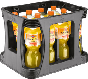 Foto Kastell Orange Kasten 12 x 1 l PET Einweg