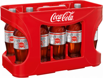 Foto Coca Cola Light Kasten 12 x 0,5 l PET Einweg